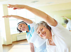 Healthy Steps: A Gentle Exercise Class