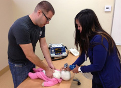 Heartsaver Pediatric First Aid, CPR and AED Class
