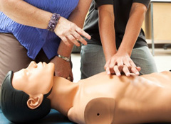 Heartsaver CPR and AED for Non-Health Care Providers Class
