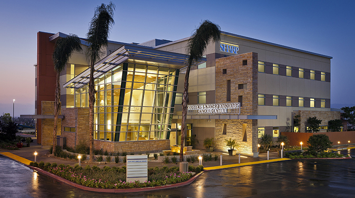 The Douglas & Nancy Barnhart Cancer Center at Sharp Chula Vista Medical Center