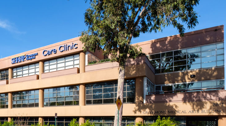 Sharp Grossmont Hospital Care Clinic