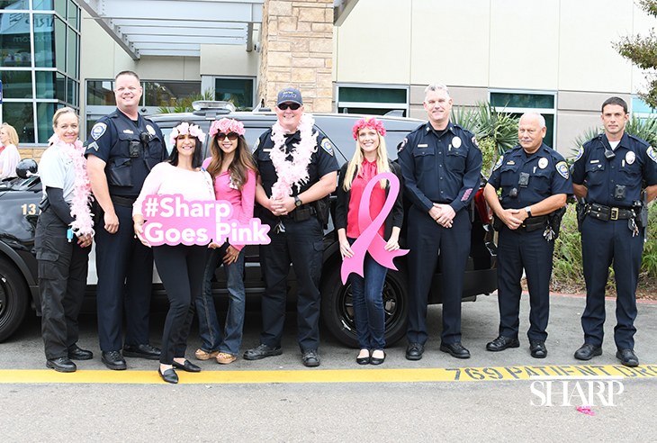 Sharp Chula Vista employees join police officers