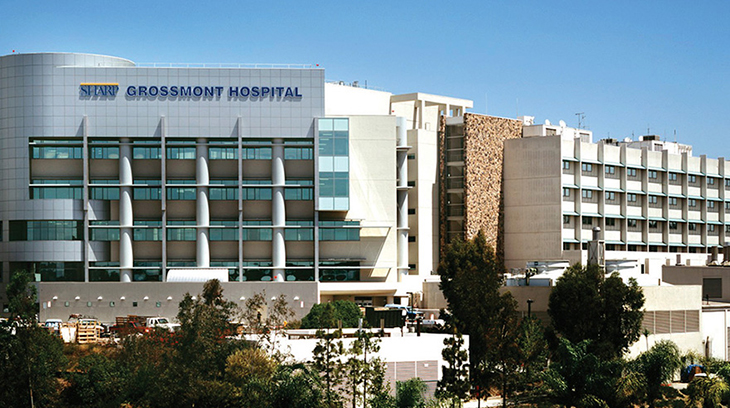 Sharp Grossmont Hospital in San Diego