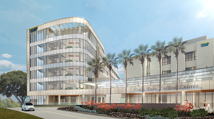 New hospital at Sharp Chula Vista Medical Center