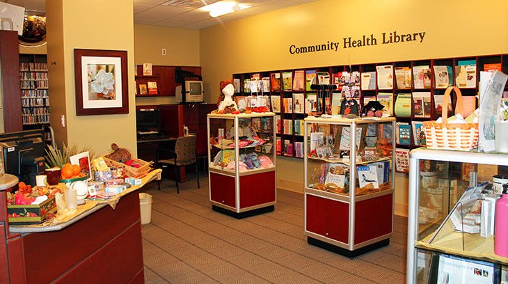 Community Health Library at Cushman Wellness Center
