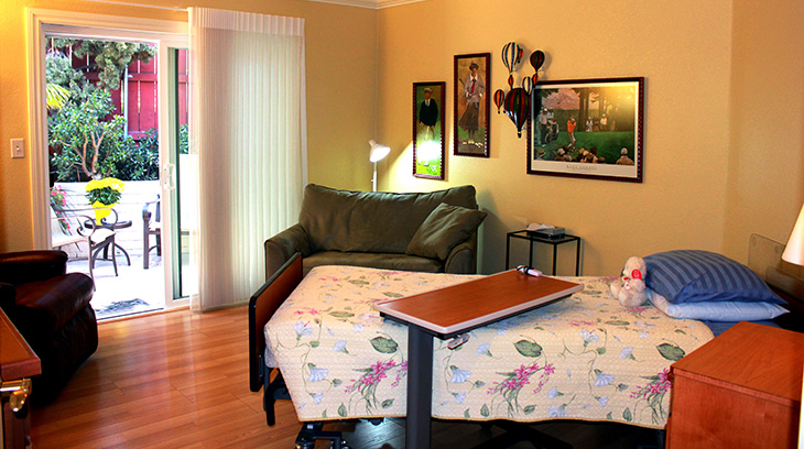 ParkView bedroom