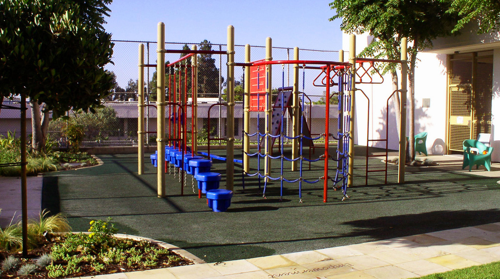 Playground at Sharp Mesa Vista Hospital
