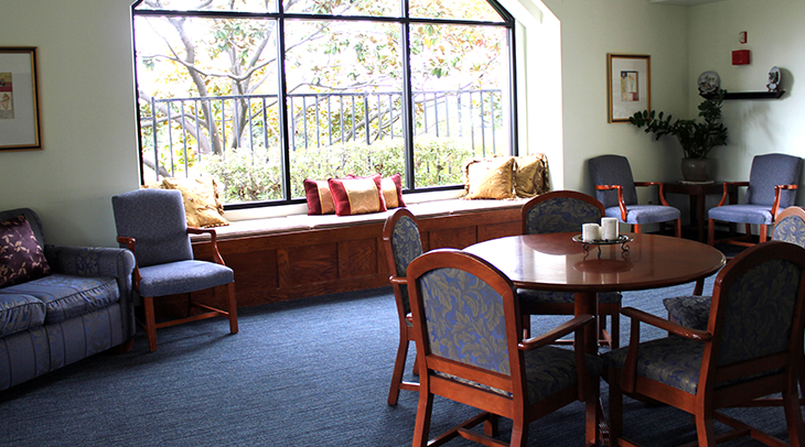 Villa Coronado skilled nursing facility interior