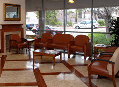 Women's Center Lobby at Sharp Grossmont Hospital